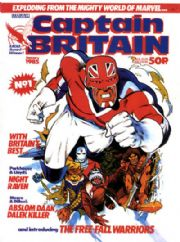 Captain Britain UK Monthly Comics (1985 Series)